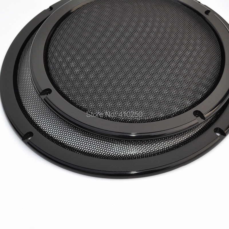 8 inch Car Speaker Grille Speakers Sub Woofer Grill Cover Black Color Metal Cold-rolled steel+ABS Material - E-MAX Electronics store