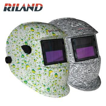 RILADN Automatic ON/OFF Welding Helmet Auto Darkening Mask Solar Welder Auto-Darkening Arc Tig mig