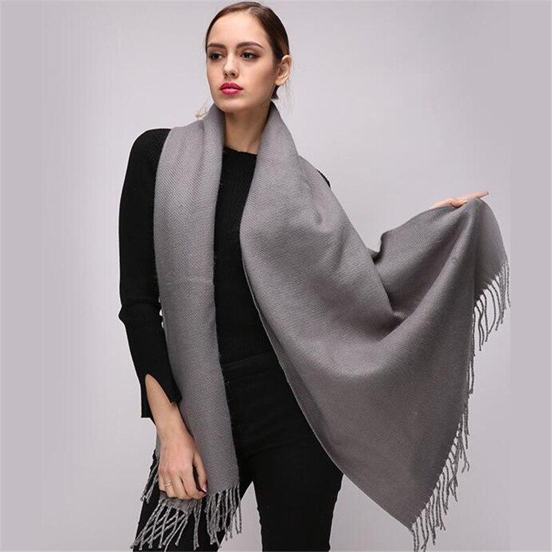 Einfach Spitze Design 2018 Neue Poncho Frauen Mode Zeigen Pashmina Kaschmir-wie Schal Winter Schal Cape Luxus Marke Schals Für Damen Bekleidung Zubehör