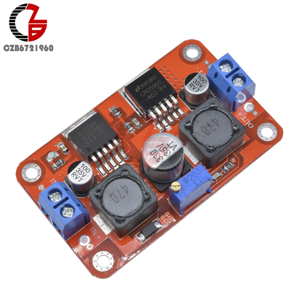 5PCS DC-DC Step Up//Down Boost Buck Voltage Power Converter Module XL6009 LM2596S