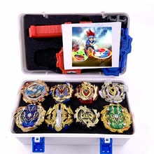 Tops Set Launchers Beyblade Toys With Starter and Arena Bayblade Metal God Burst