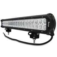 Safego 20'' inch led light bar 126w work light for off road truck tractor boat suv atv driving working light 12v 24v combo beam