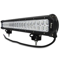 Safego 20'' inch led light bar 126w work light for off road truck tractor boat suv atv driving working light 12v 24v combo beam
