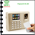 tcp/ip wifi Fingerprint time attendance time System with rfid reader free Software Wifi Fingerprint Time clock