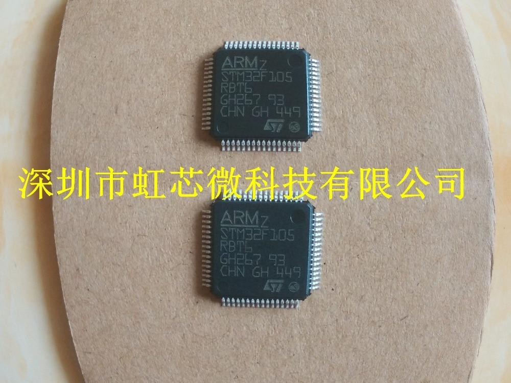 10PCS STM32F105RBT6 LQFP64 STM32 MCU 100% Brand new Original