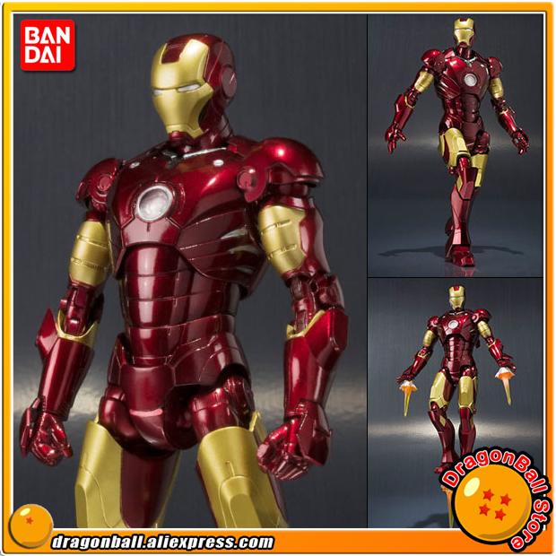 Iron Man Original BANDAI Tamashii Nations S.H.Figuarts / SHF Action Figure - Iron Man Mark 3 вытяжка kuppersberg dda 660