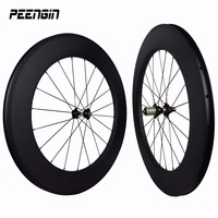 bike road wheelsets for sale 700c ruote carbon wheels china basalt 88mm clincher cycling rim 25mm wide U rims aero Pillar spokes