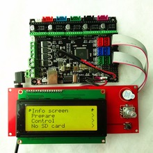 МКС Gen L V1.0 с 2004 ЖК-дисплей minipanel LCD2004 дисплей дешевые Объёмный рисунок (3D-принт) er стартовый набор контроллер openbuilds 3d печати карт