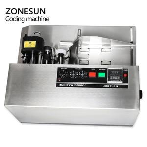 Image 5 - ZONESUN MY 380 coding machine Semi Automatic Solid Ink Date Coding Machine, automatically continuous date coding machine