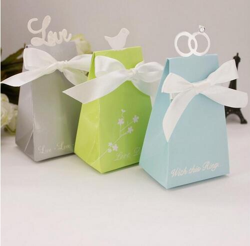 Hot Selling 40PCSLot Wedding Party Decorate White Diamond Ring Simple How To Decorate A Gift Box