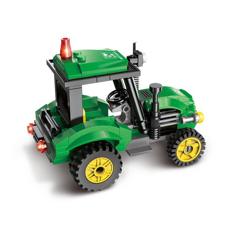 Cool-Tractor-DIY-Building-Blocks-Kit-Toy-Truck-Construction-Bricks-Children-Educational-Toys-Gift-112pcs-Blocks-2