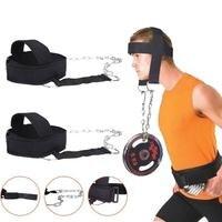 Novo Arnês de Cabeça Cinto Trainer Exercício de Levantamento De Peso Equipamentos de Ginástica Ajustável quente