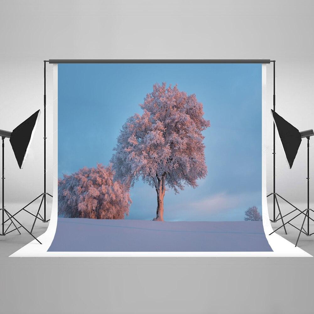 Kate Winter Photography Background Forzen Tree Photo Background Photography Backdrop Sceniic Children Photo Backdrop цена и фото