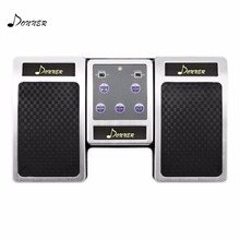 Donner Bluetooth Page Turner Pedal for Tablets Ipad Rechargeable moukey wireless page turner pedal for tablets ipad app controls hands free reading page turns 10m bluetooth range turning pedal