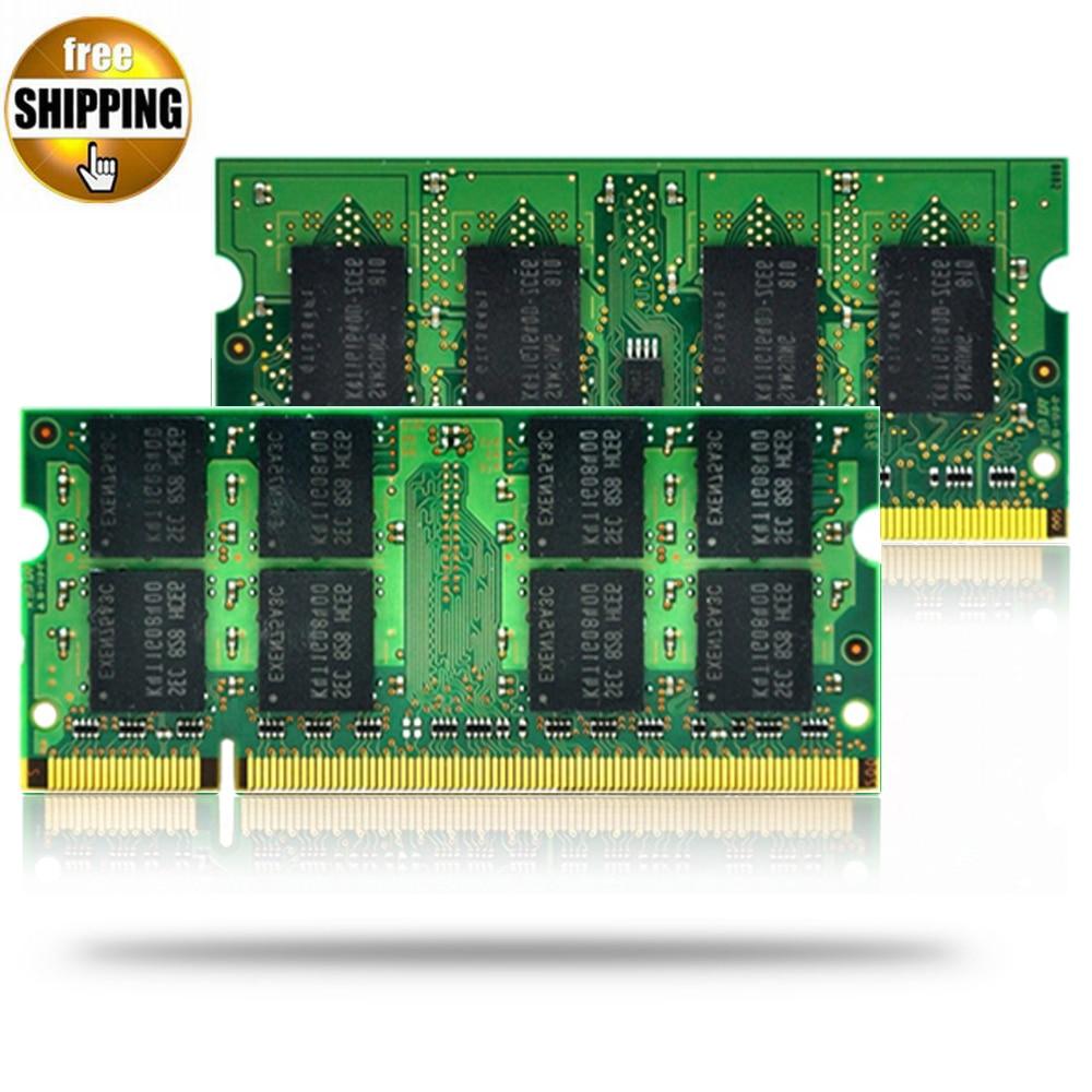 JZL Dual Channel DDR2 SDRAM 800 667 533 MHz PC2-6400S 1 GB 2 GB keine ECC 200 pin 1,8 V SODIMM Ram Speichermodul für Laptop/Notebook