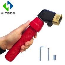 HITBOX 400A держатель электрода сварки держатель Arc держатель для сварочного электрода 400A Великобритании твист Тип фиксатор