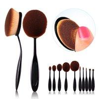 Toothbrush Shaped Foundation Powder Brushes Kit Face Cosmetic Make Up Brush Sets