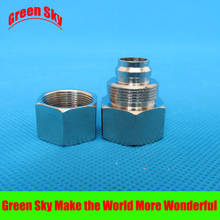 16mm OD Hose Barb Tail To 1/2 Inch BSP Female Thread Connector Joint SS 304 Stainless Steel Pipe Fitting