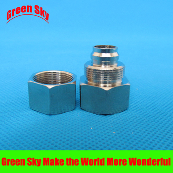 16mm OD Hose Barb Tail To 1/2 Inch BSP Female Thread Connector Joint SS 304 stainless steel bushing 0 5 inch through bore slip ring rotary joint slip ring connector id12 7mm od 54mm 6 circuits x 5a