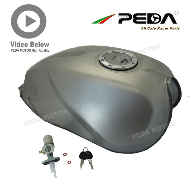 B4 PEDA Cafe Racer Retro Fuel Tank Universal Motorcycle Vintage Petrol Gas Can Gasoline Tanks For SUZUKI GN125 GN250 For HONDA