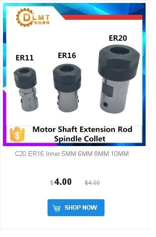 1 шт. ER16 1-10 мм 1/4 6,35 1/8 3,175 1,5 2,5 пружинный цанговый Высокоточный цанговый набор для ЧПУ гравировальный станок токарный станок мельница инструмент