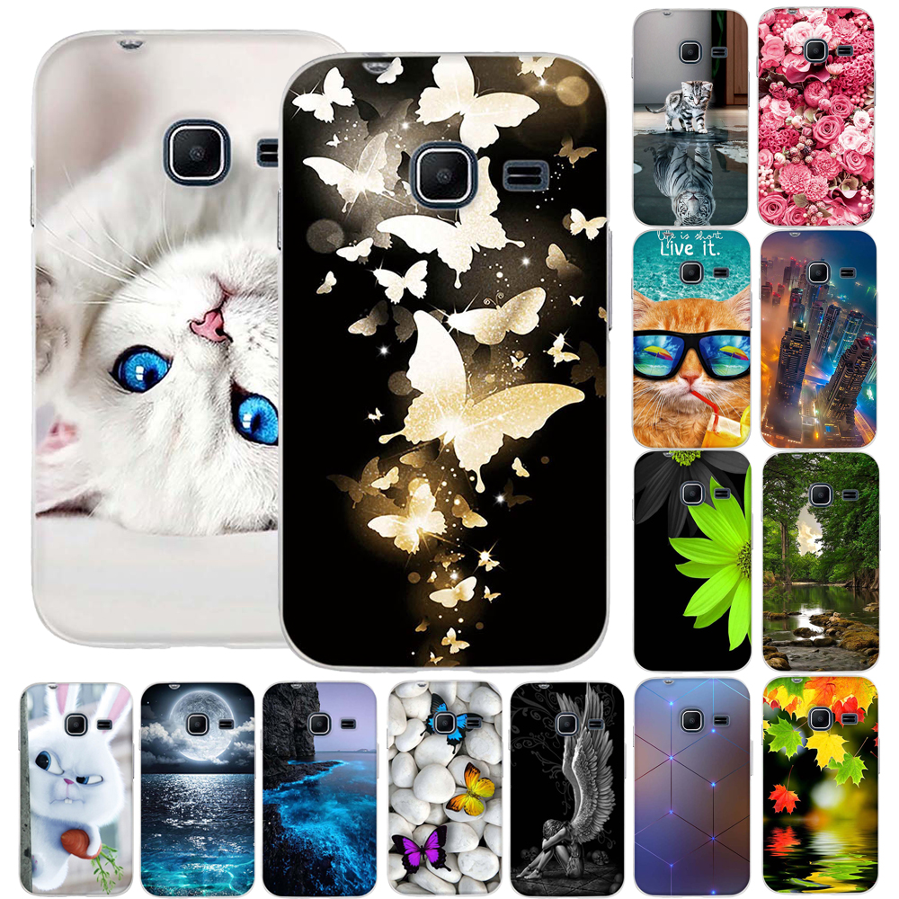 3D Patterend Soft TPU Silicon Case For Samsung Galaxy J1 mini Case Phone Case For Samsung Galaxy J1 mini 2016 J105H J1 Nxt Cover