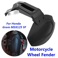 1Set Motorcycle Rear Side installation Mudguard Motorcycle Tail Wheel Cover for Fender Splash Guard For Honda Grom MSX125 SF