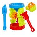 4 Pcs Crianças Praia Ferramentas de Jogo de Areia Ampulheta Set Seguro de Plástico Crianças Brinquedos do Jogo Da Água Frete Grátis