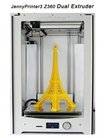 JennyPrinter3 Z360 With Double Nozzle Extrude DIY KIT Extended Large For Original Ultimaker 2 UM2 Include