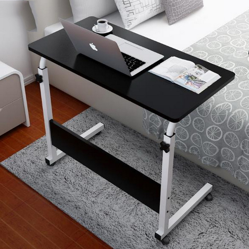 250313 lazy simple desk removable bed computer desk multi functional design lift folding table. Black Bedroom Furniture Sets. Home Design Ideas