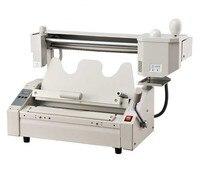 Upgrade Manual Perfect binding machine hot melt glue book binder machine 40mm thick