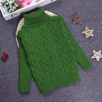 Big Size 2-10T Pullover Winter Autumn Sweater Boy Girl Child Knitted Sweater Turtleneck Sweater Children Outerwear KC-1547-7