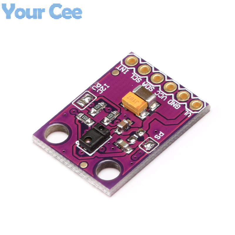 1 pcs DIY Mall RGB Gesture Sensor APDS-9960 APDS 9960 for Arduino I2C Interface 3.3V Detectoin Proximity Sensing Color UV Filter