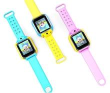Gps smart watch reloj q730 bebé con wifi 1.0 pulgadas táctil Dispositivo de Localización de Llamadas pantalla SOS Perseguidor de Seguros para Niños iOS Android