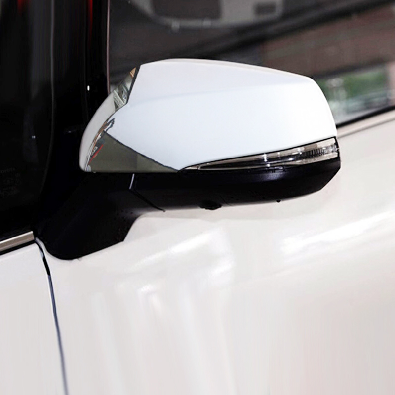 For Toyota RAV4 2019 ABS Chrome Car rearview mirror cover Cover Trim Sticker Car Accessories styling 2PCSFor Toyota RAV4 2019 ABS Chrome Car rearview mirror cover Cover Trim Sticker Car Accessories styling 2PCS