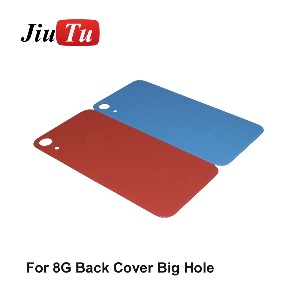 New Back Glass Replacement For iPhone 8 8G 8Plus 8P 8 Plus  X Battery Cover Rear Door Housing+ Adhesive Sticker jiutu (5)