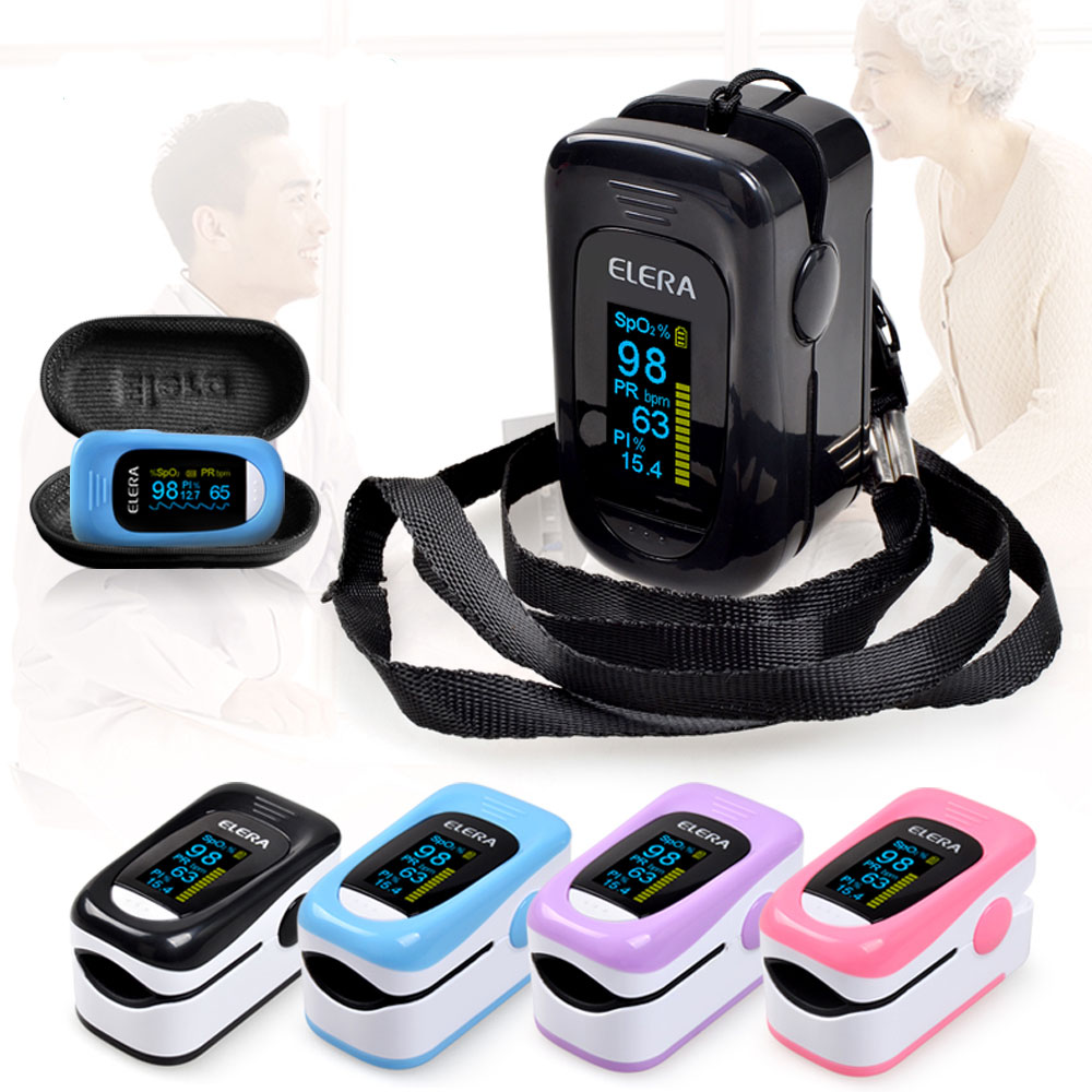 Finger-Oximeter Saturimetro Pulse SPO2 Digital PR Portable NEW ENVN