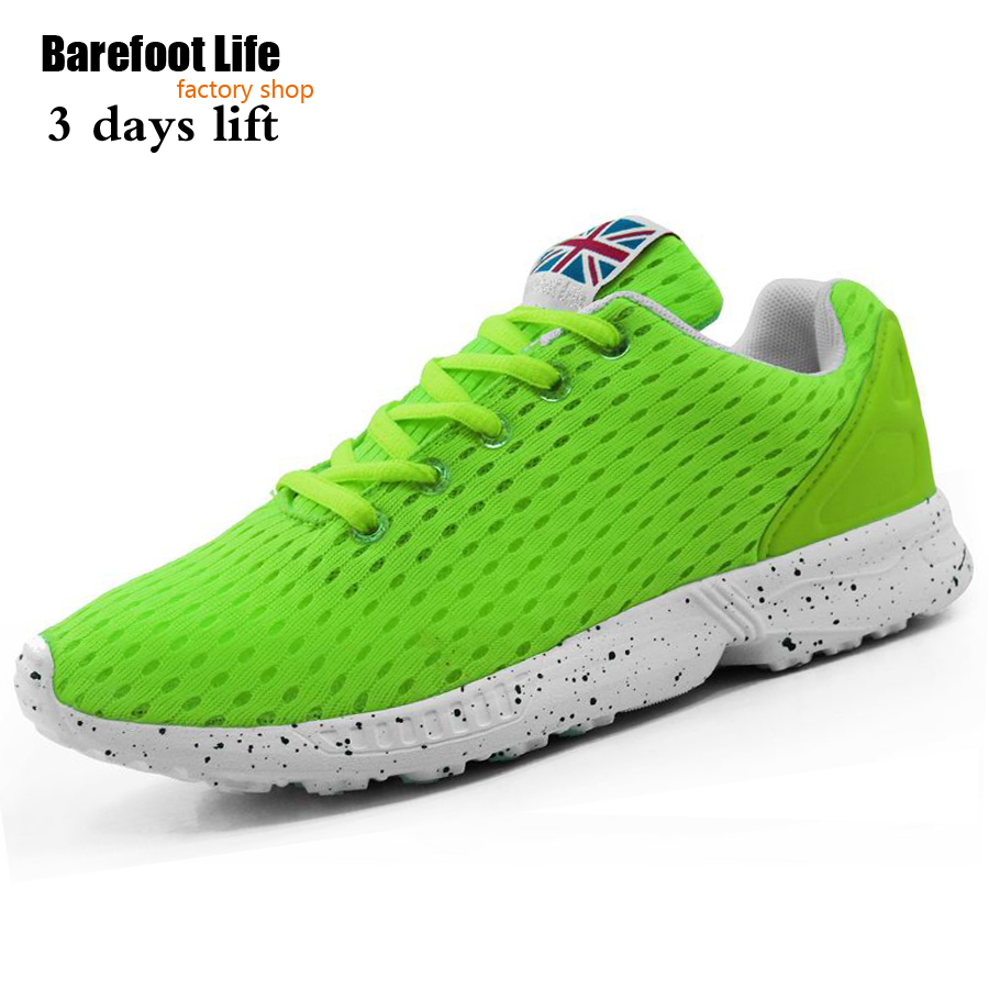 green athletic shoes for woman & man,new sport running use air mesh comfortable breathable sneakers for woman and man,schuhes
