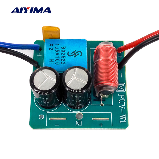Aiyima 2PC 2 Way Crossover 60W Speaker Treble Bass Audio Frequency ...
