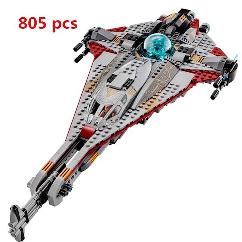 Lepin Technic 05113 Arrowhead 898Pcs Bricks Compatible With Legoing 75186 Star Wars Starwars Building Blocks Figures Toys Gift
