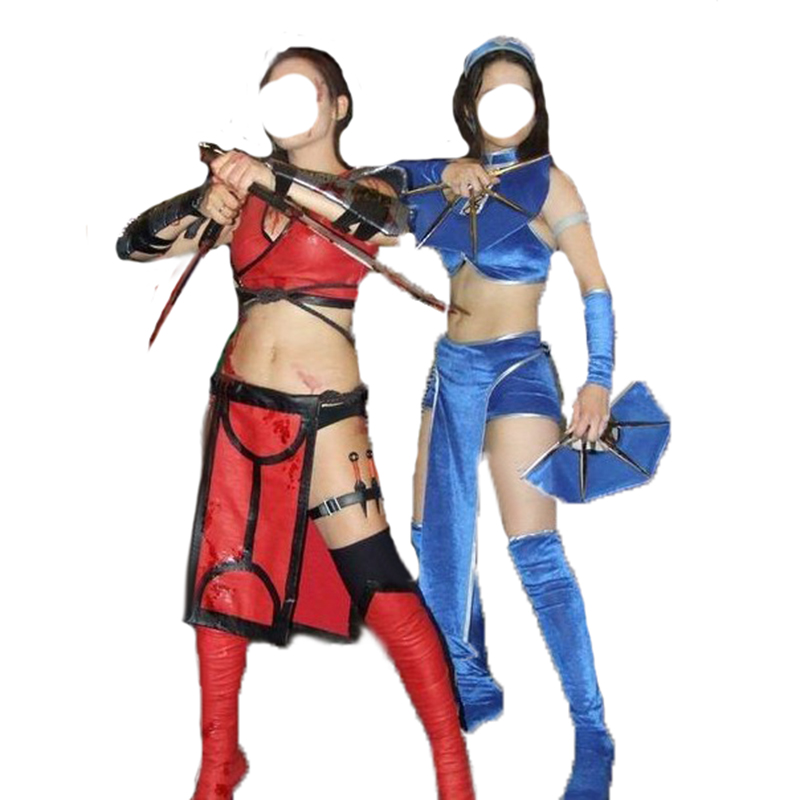 best kombat kitana cosplay brands and get free shipping - a617