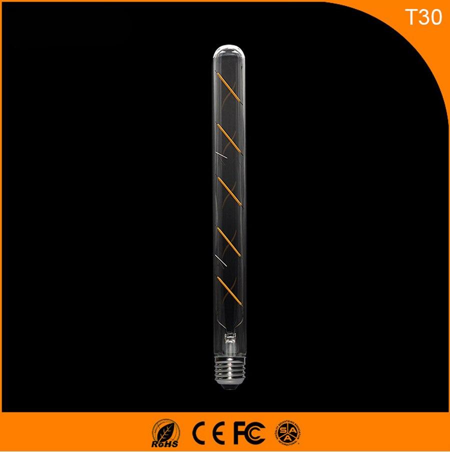 50 SZTUK 5 W E27 B22 Żarówka Led, T30 LED COB Vintage Edison Światła, Retro Żarówki żarnika Światła AC 220 V