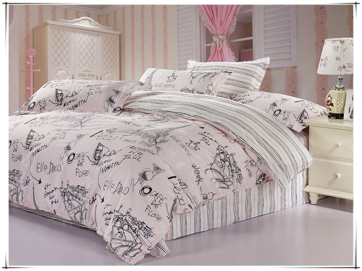 Cheap Eiffel Tower Bedding