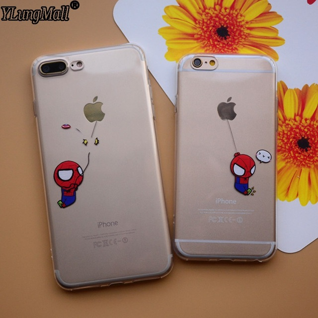 coque iphone 7 plus spiderman