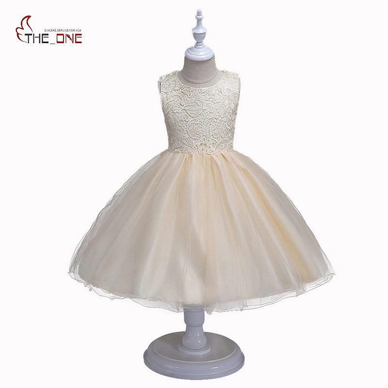 MUABABY Summer Flower Girls Princess Dress Kids Backless Embroidery Party Wedding Dress Children Girl Prom Ball Gown Costume muababy big girls princess dress summer children flower sleeveless tulle prom party dresses kids girl wedding evening ball gown