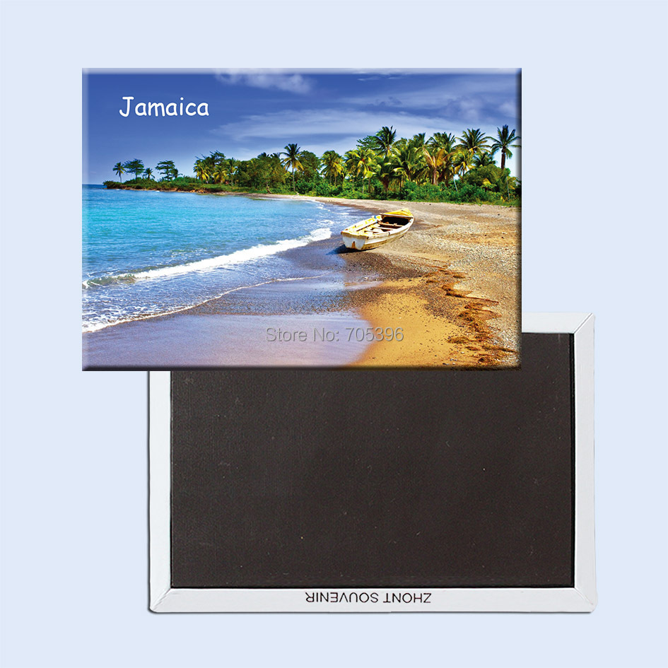 Jamaica,the country of Caribbean Sea Souvenir Fridge Magnets 20773