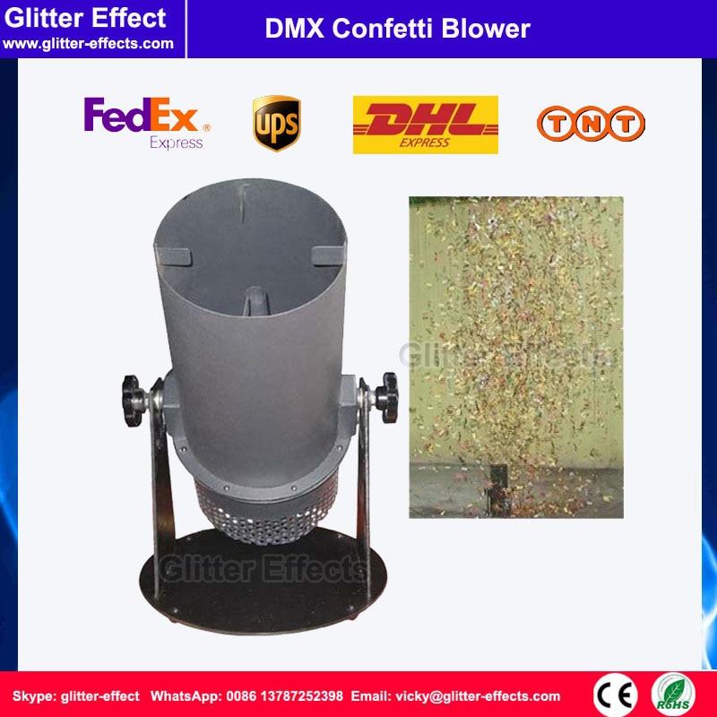 DJ stage special effect wedding celebration mini color paper blower disco club bar small confetti cannon
