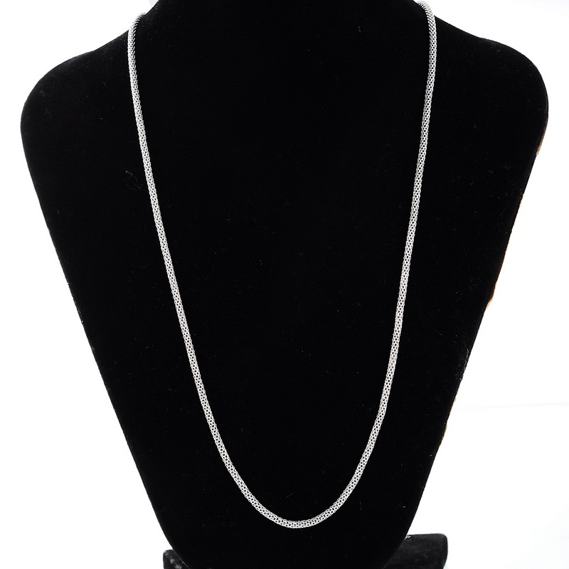 LASPERAL Stainless Steel Pop Chain Necklace For Men Women Long Snake Chains AccessorieS For Jewelry Fine Fashion Chains Jewelry