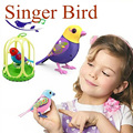Bonito Brinquedos Elétricos de Solo o Som do Canto do Pássaro Animais de Estimação Do Bebê Música Inteligente Digibirds Com Birdcage Pássaro Música para Crianças dos miúdos 793 #