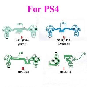 Image 3 - YuXi 10 stuks JDM 001 030 040 JDS 055 Voor Playstation4 Geleidende Film Toetsenbord voor PS3 PS4 Pro Slim Controller dualShock PCB Circuit